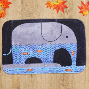 Home Goods - Elephant Floor Mat