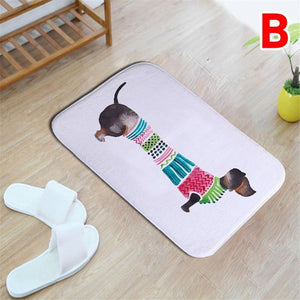 Home Goods - Watercolor Dachshund  Floor Mat