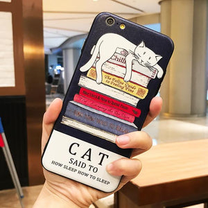 Lovely Cat Silicone IPhone Case