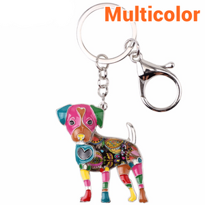 Cute Jack Russell Keychain * Free Shipping! *