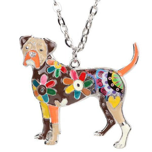 Necklace - Cute Boxer Dog Necklace