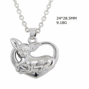 Necklace - Cute Chihuahua Pendant Necklace