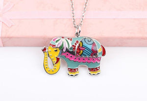 Necklace - Cute Elephant Chain Necklace