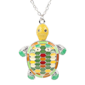 Necklace - Cute Turtle Pendant Necklace
