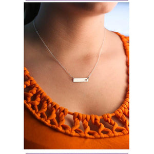 Necklace - Dachshund Bar Necklace