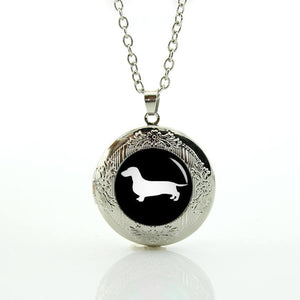 Necklace - Dachshund Locket Necklace