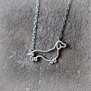 Necklace - Dachshund Necklace