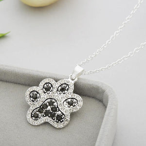 Necklace - Dog Paw Pendant Necklace