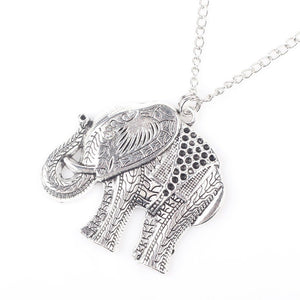Necklace - Elephant Pendant Necklace
