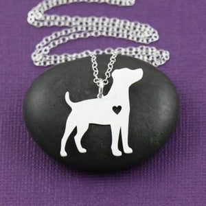 Necklace - Jack Russell In My Heart Necklace