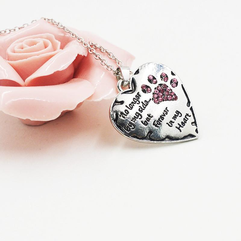No longer by my side but forever in my heart pendant necklace onepunz necklace no longer by my side but forever in my heart pendant necklace aloadofball Gallery