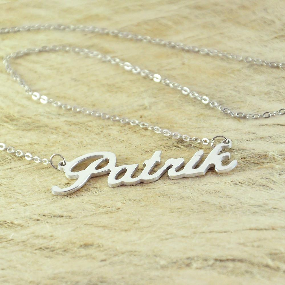 Personalized name necklace free shipping onepunz necklace personalized name necklace free shipping mozeypictures Choice Image