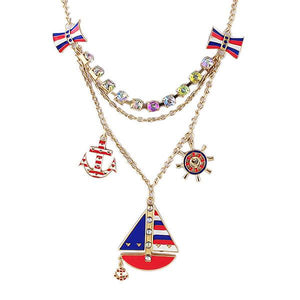 Necklace - Sailboat Pendant Necklace