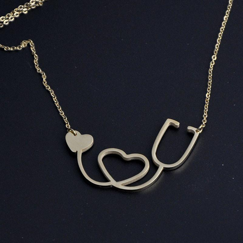 shaped grande fashion products necklace pressed heart pendant flower
