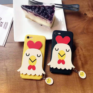 Phone Case - Cute Cartoon Chicken IPhone Case