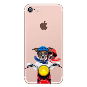 Phone Case - Cute Jack Russell Soft TPU Case For IPhone