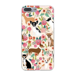 Phone Case - Flower Chihuahua IPhone Case *Free Shipping! *