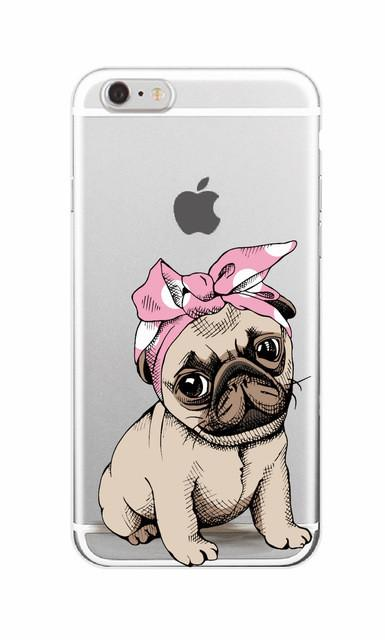 hot sales ff341 cd338 Pug Girl & Boy Phone Case for Samsung Galaxy