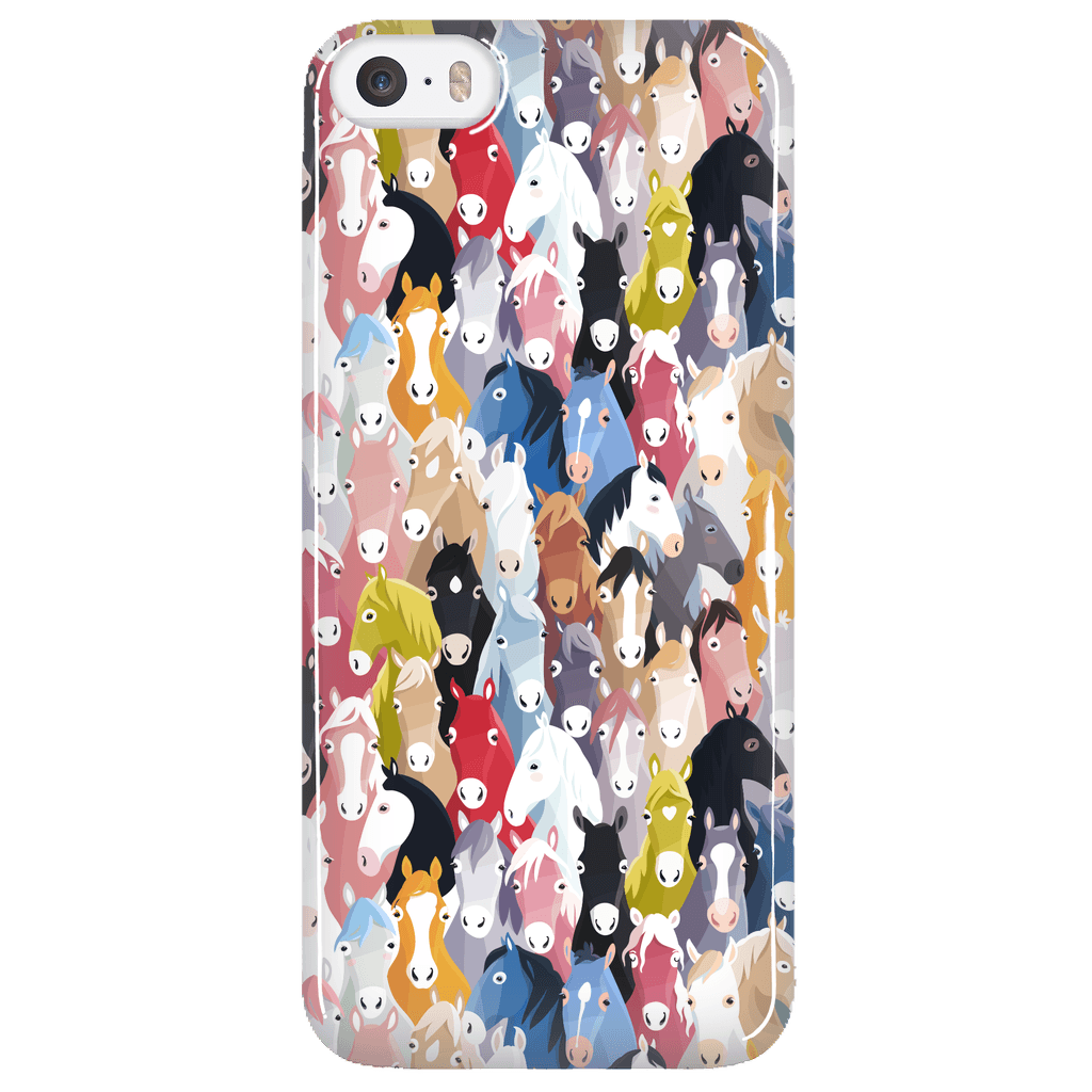 separation shoes fc595 b7f75 Colorful Horses iPhone Case * FREE SHIPPING *