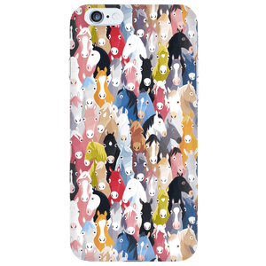 Phone Cases - Colorful Horses IPhone Case * FREE SHIPPING *