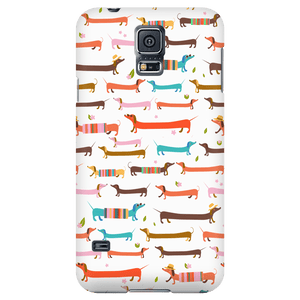 Phone Cases - Cute Dachshund Phone Case For Samsung Galaxy