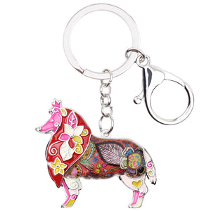 Cute Sheltie Keychain * Free Shipping! *