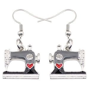 Cute Sewing Machine Earrings * Free Shipping! *