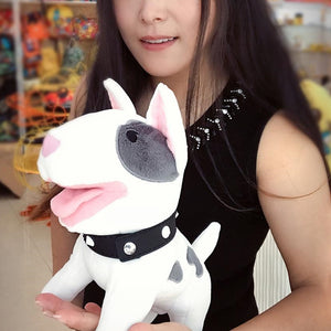 Cute Bull Terrier Soft Plush Doll