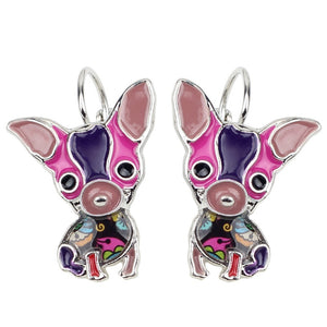 Cute Chihuahua Clip On Earrings * Free Shipping! *