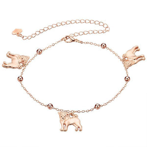 Cute Pug Anklet
