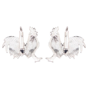 Cute Chicken Clip On Earrings * Free Shipping! *