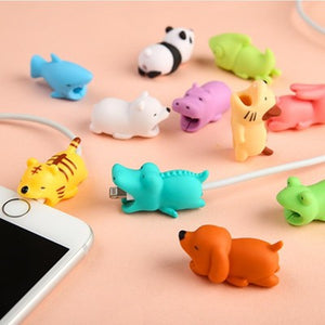 Cute Animal Bite Cable Protector