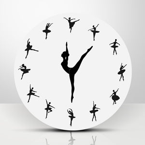 Ballerina Dance Wall Clock
