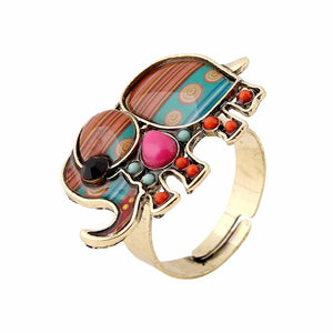 Ring - Cute Elephant Adjustable Ring