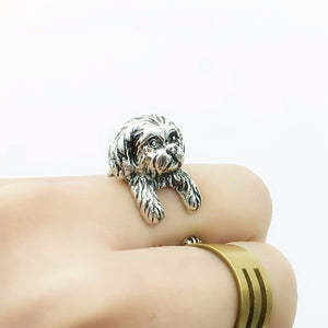 Ring - Shih Tzu Wrap Ring