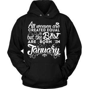 T-shirt - 01 Born In January Shirt 2 (Women)