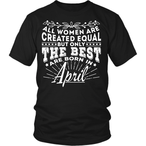 T-shirt - 04 Born In April Shirt (Women)