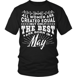 T-shirt - 05 Born In May Shirt (Women)