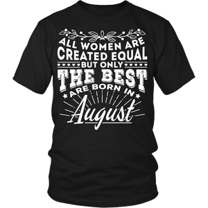 T-shirt - 08 Born In August (Women)