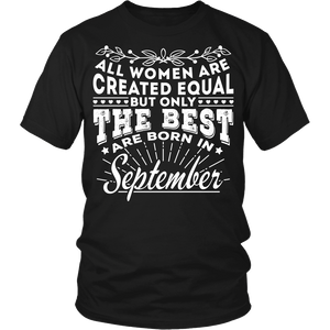 T-shirt - 09 Born In September Shirt (Women)