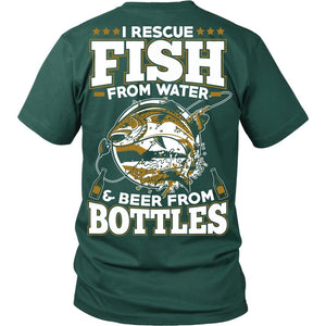 T-shirt - I Rescue Fish From Water