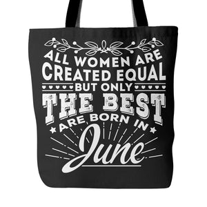 Tote Bags - 06 Born In June Tote Bag