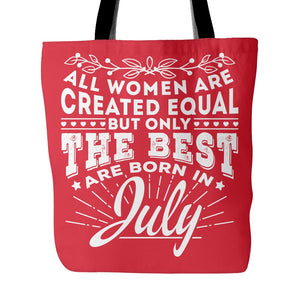 Tote Bags - 07 Born In July Tote Bag 18""