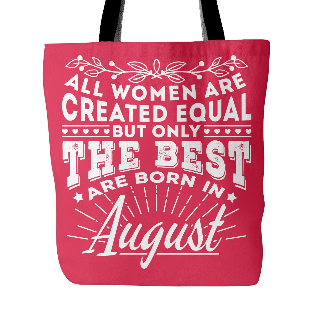 74d86fc1 Tote Bags - 08 Born In August Tote Bag