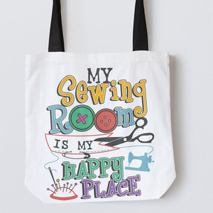 Tote Bags - My Sewing Room Tote Bag