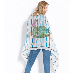 Cute Turtle Scarf * Free Shipping! *