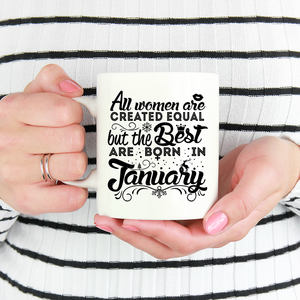 01 Born in January Mug 2