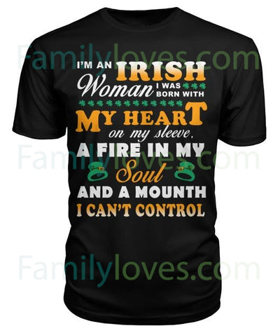I'M AN IRISH WOMAN I WAS BORN WITH MY...