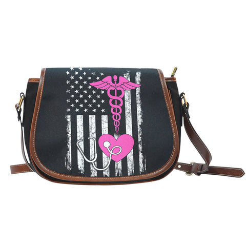American Nurse Saddle BagFamilyloves