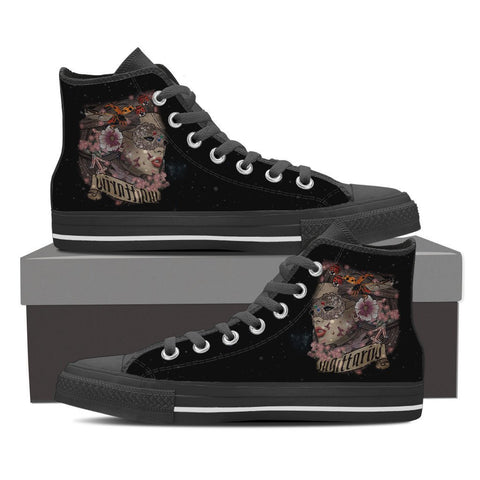Sagittarius High Shoes Black